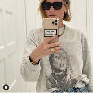 Anine Bing Terry Oneill Ramona Sweatshirt